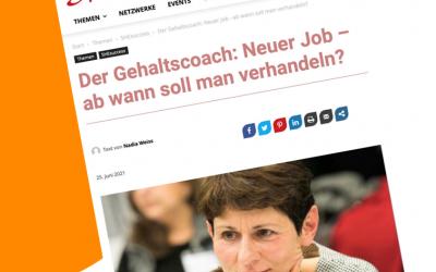 Der Gehaltscoach: Neuer Job – ab wann soll man verhandeln? – Sheconomy 25.06.2021