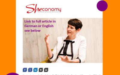 3 steps to more success – Sheconomy 10.09.2021