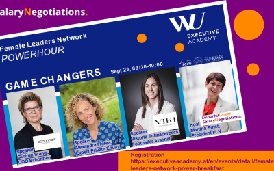 Power Breakfast – WU Executive Academy Female Leaders Network – 23.09.2021
